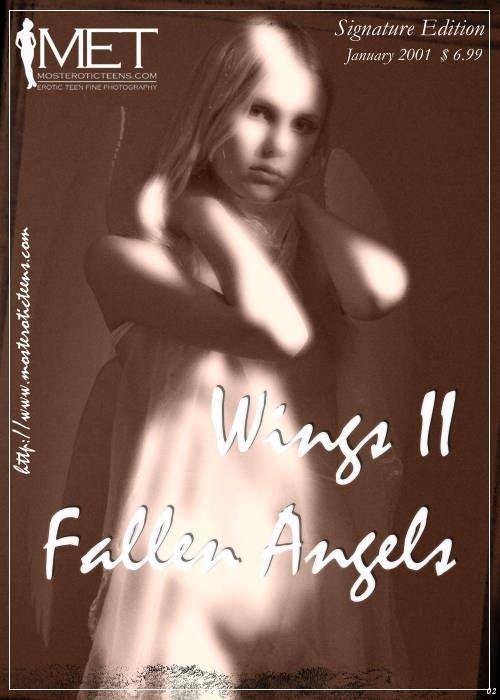 Julia A - `Wings Fallen Angels 02` - for METART ARCHIVES