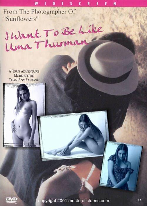 Alina - `I Want To Be Like Uma Thurman 02` - for METART ARCHIVES