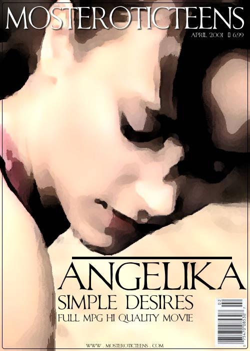 Angelika - `Simple Desires` - for METART ARCHIVES