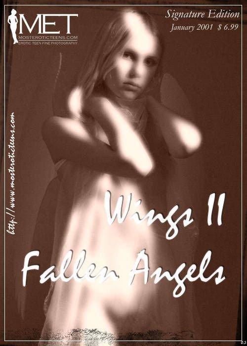 Julia A - `Wings Fallen Angels 05` - for METART ARCHIVES