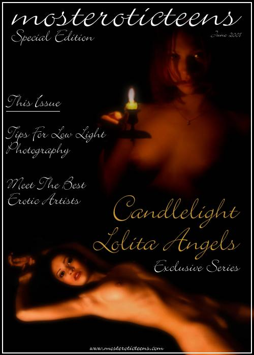 `S.C. Artworks  05 (Candlelight Lolita Angels)` - by Sandro Cignali for METART ARCHIVES