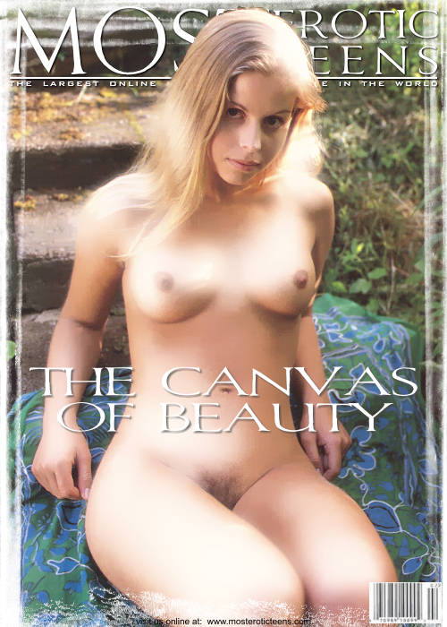 `The Canvass of Beauty` - for METART ARCHIVES