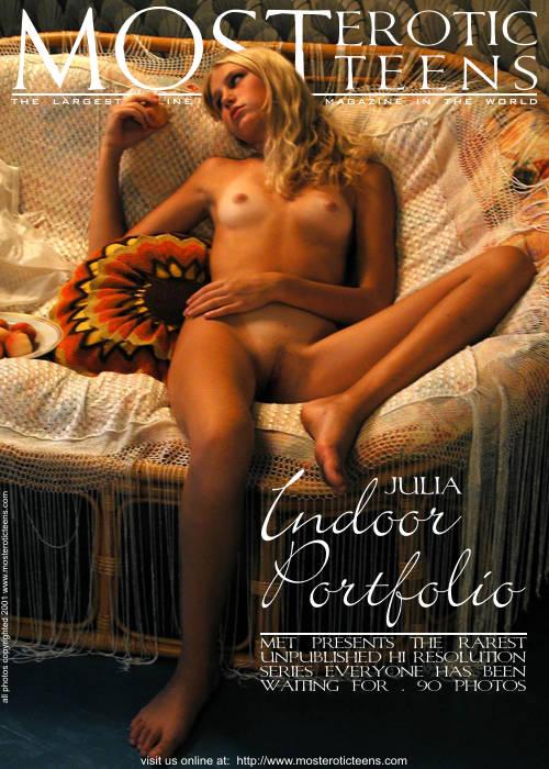 Julia A - `Indoor Portfolio 01` - for METART ARCHIVES