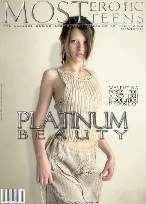 Valentina C - `Platinum Beauty 01` - by Galitsin for METART ARCHIVES