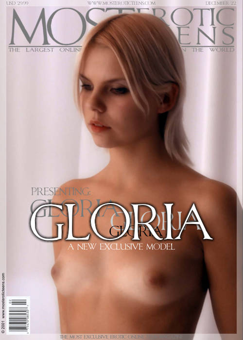 Gloria - `Presenting` - for METART ARCHIVES