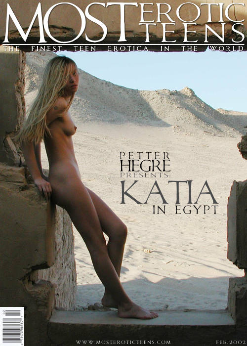 Katia - `Katia In Egypt 1` - by Petter Hegre for METART ARCHIVES