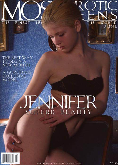 Jennifer - `Second Photoshoot` - for METART ARCHIVES