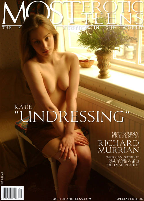 Katie - `Undressing` - by Richard Murrian for METART ARCHIVES