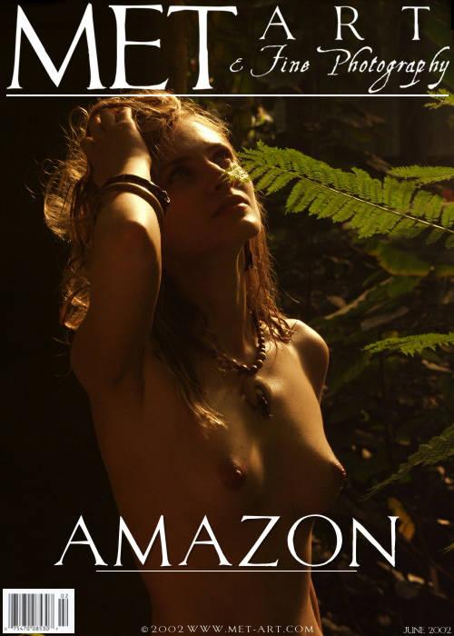 Linda - `Amazon I` - for METART ARCHIVES