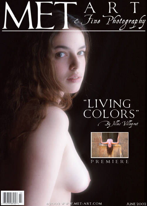 `Living Colors` - by Jilles Villeprat for METART ARCHIVES