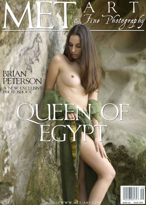 Alissa A - `Queen Of Egypt 01` - by Brian Peterson for METART ARCHIVES