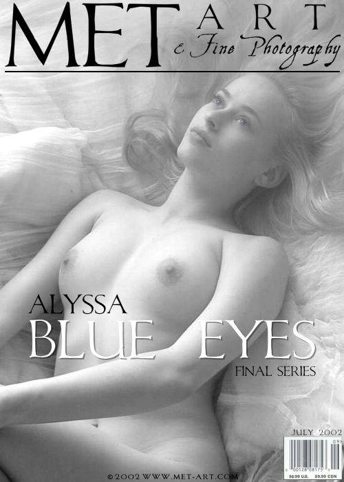 Alyssa A - `Blue Eyes 03` - by Ashelon for METART ARCHIVES