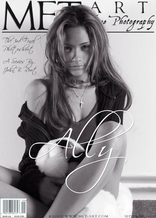 Ally - `Presenting Ally 03` - by J.B. Root for METART ARCHIVES