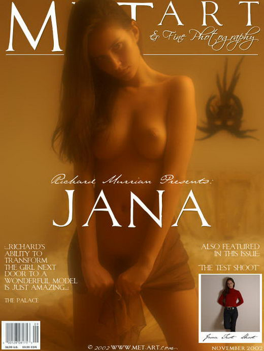 Jana B - `Jana` - by Richard Murrian for METART ARCHIVES