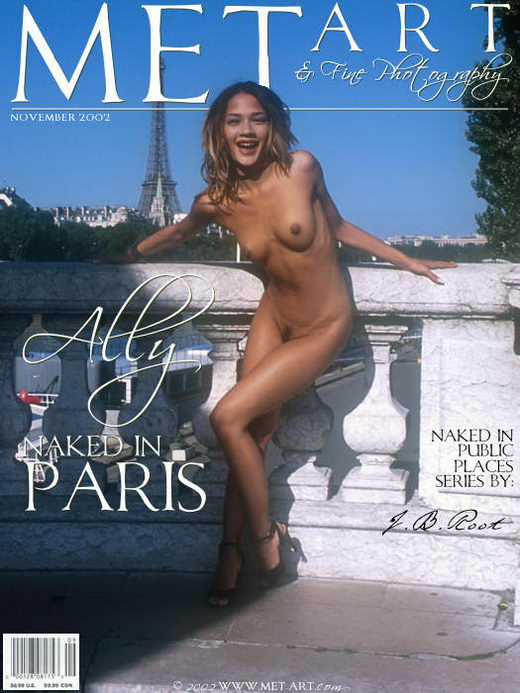 Ally - `Naked In Paris` - by J.B. Root for METART ARCHIVES