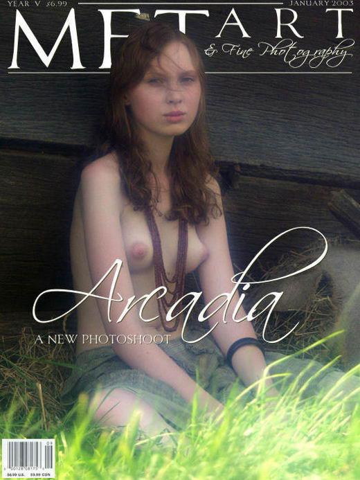 Katya B - `Arcadia 03` - by Natasha Schon for METART ARCHIVES