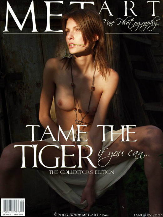 Jeka - `Tame The Tiger 04` - by Natasha Schon for METART ARCHIVES
