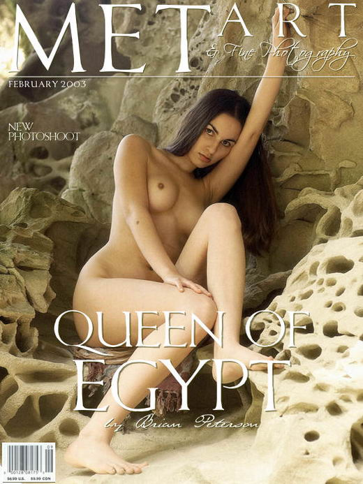 Alissa A - `Queen Of Egypt 02` - by Brian Peterson for METART ARCHIVES