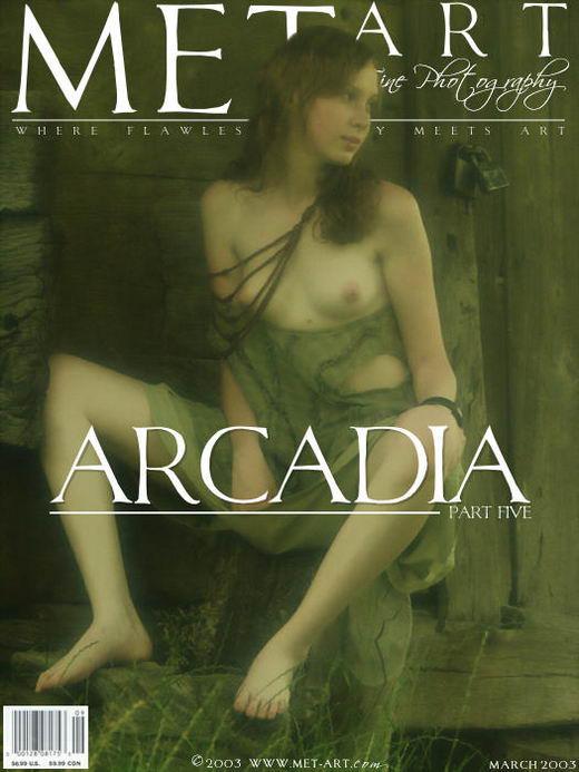Katya B - `Arcadia 05` - by Natasha Schon for METART ARCHIVES