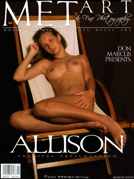 Allison A - `Premiere Presentation 01` - by Don Marcus for METART ARCHIVES