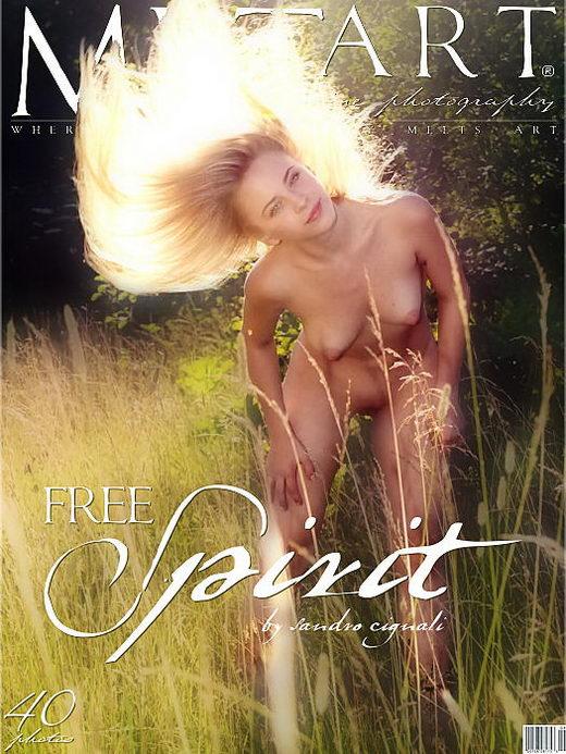 Nata - `Free Spirit` - by Sandro Cignali for METART ARCHIVES