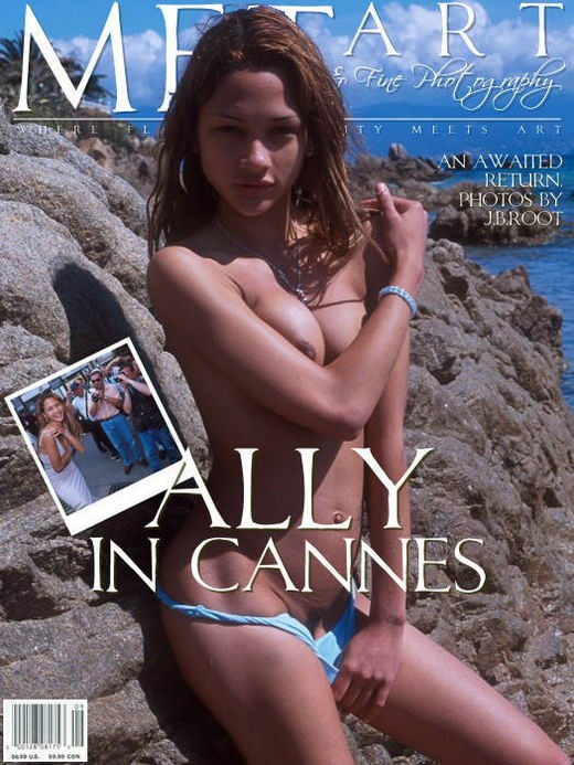 Ally - `Ally In Cannes 01` - by J.B. Root for METART ARCHIVES