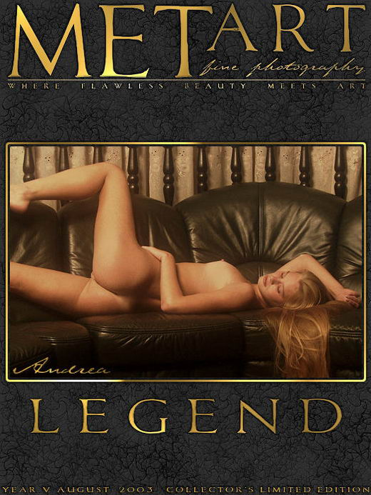 Andrea C - `Legend 01` - by Alexander Voronin for METART ARCHIVES