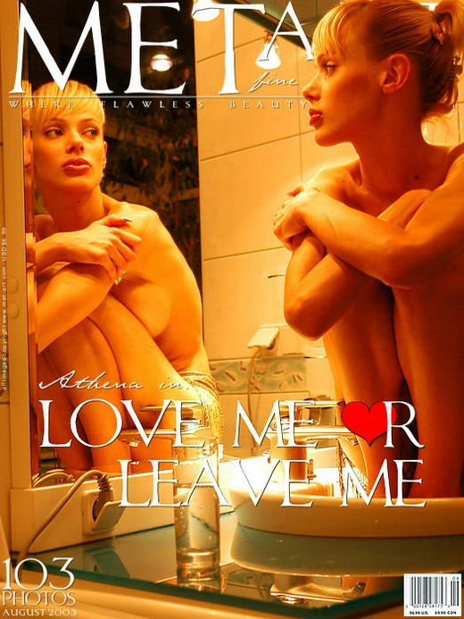 Athena - `Love Me Or Leave Me` - by Alexander Voronin for METART ARCHIVES