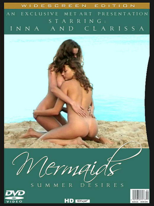 Inna Q & Clarissa - `Mermaids [00'03'46] [AVI] [520x390]` - by Alexander Voronin for METART ARCHIVES