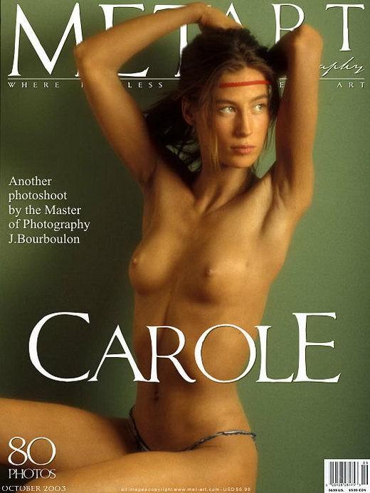 Carole - `Carole 01` - by Jacques Bourboulon for METART ARCHIVES