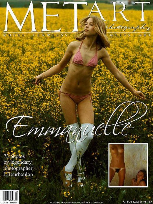 Emmanuelle - `Emmanuelle` - by Jacques Bourboulon for METART ARCHIVES