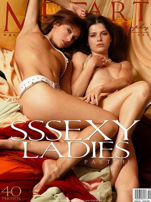 Sharon E & Katya U - `Sssexy Ladies 03` - by Alexander Voronin for METART ARCHIVES