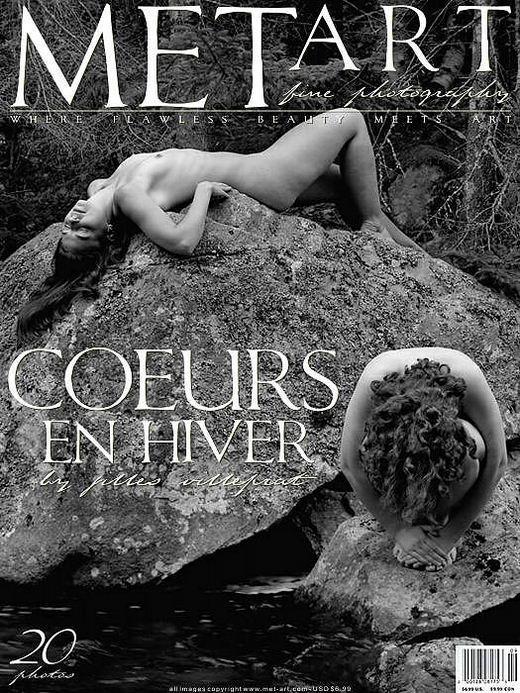 `Coeurs En Hiver` - by Jilles Villeprat for METART ARCHIVES