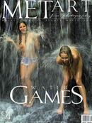 Koika & Vika in Water Games gallery from METART ARCHIVES by Alexander Fedorov
