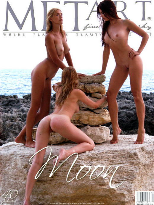 Vika R & Ulya F & Nikita B - `Moon 01` - by Sergey Goncharov for METART ARCHIVES
