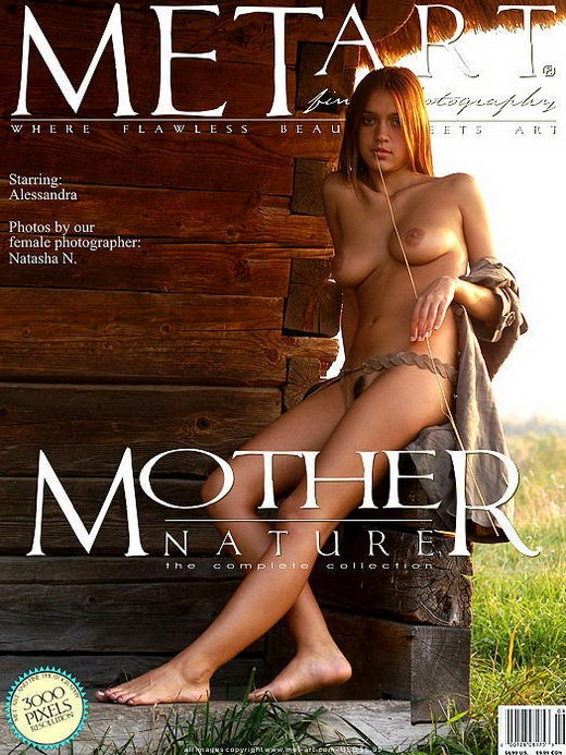 Alessandra D - `Mother Nature 02` - by Natasha Schon for METART ARCHIVES