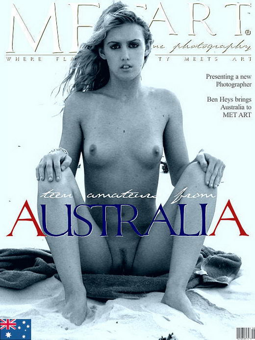 `Teen Amateurs Australia` - by Jacques Bourboulon for METART ARCHIVES