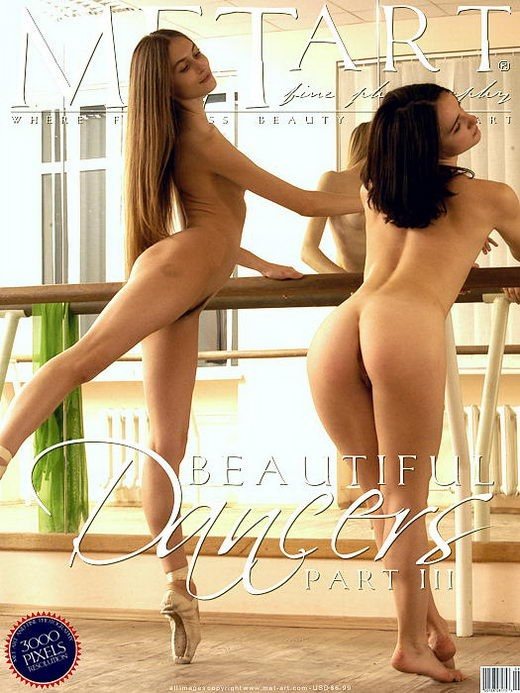 Jasmine A & Lea - `Beautiful Dancers 03` - by Sergey Goncharov for METART ARCHIVES