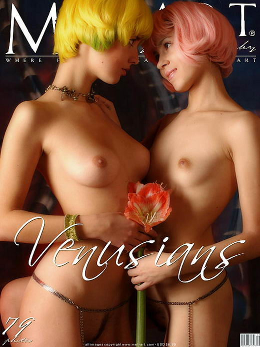 Lida A & Hilary A - `Venusians 01` - by Deviatkin for METART ARCHIVES