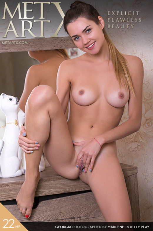 Georgia in Kitty Play gallery from METART-X by Marlene