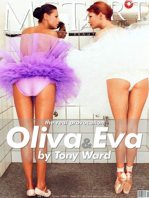 Oliva & Eva C - `Oliva & Eva` - by Tony Ward for METART