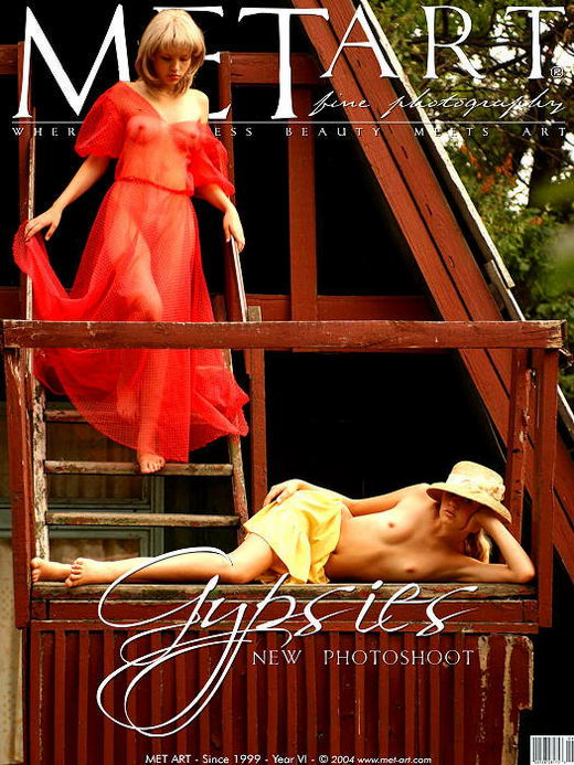 Valentina C & Julia A - `Gypsies I 2` - by Galitsin for METART
