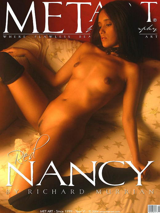 Nancy - `Red Nancy` - by Richard Murrian for METART