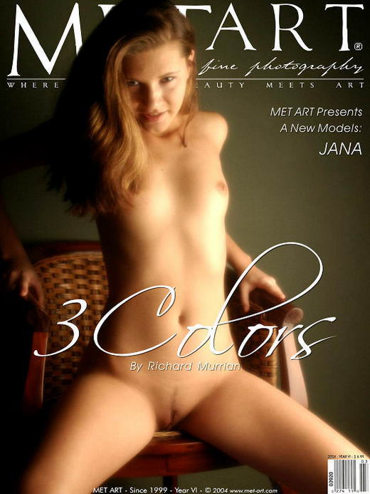 Jana A - `3 Colors` - by Richard Murrian for METART
