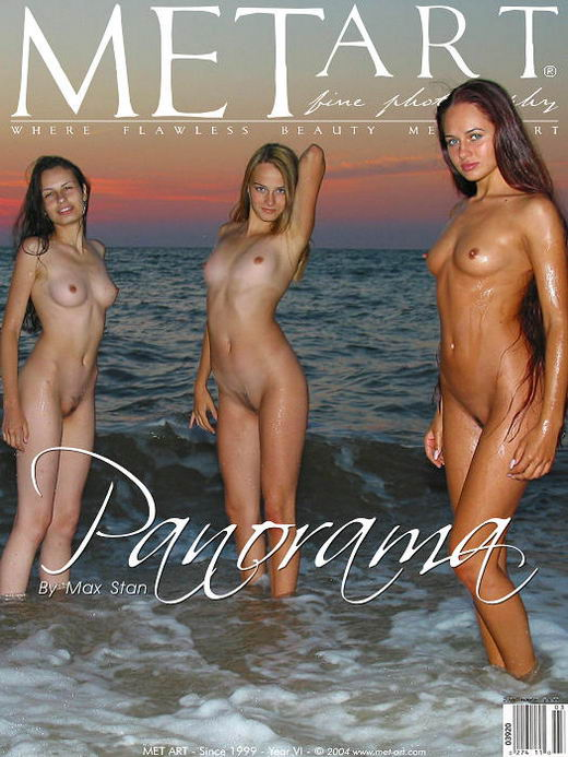 Julia I & Sophia B & Xeniya B - `Panorama` - by Max Stan for METART