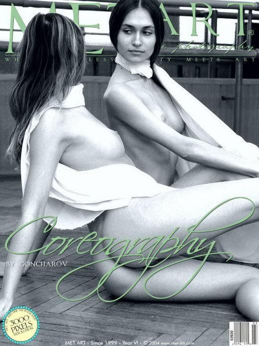 Jasmine A & Marika B - `Coreography 3` - by Goncharov for METART