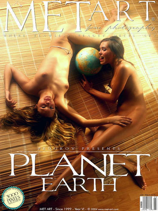 Lika & Helen A - `Planet Earth` - by Alexander Fedorov for METART