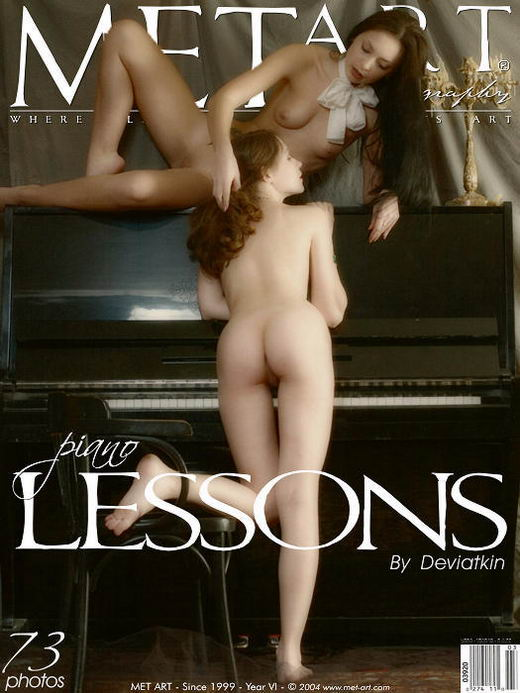 Multiple Model  Set - `Piano Lessons` - by Deviatkin for METART