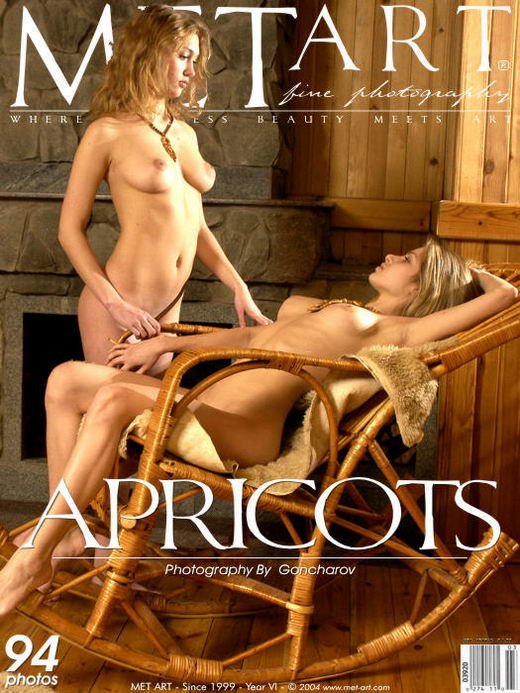 Inna A & Olya K - `Apricots` - by Goncharov for METART