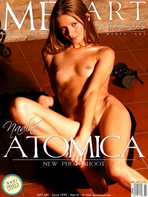 Tanya G - `Atomica 2` - by Voronin for METART